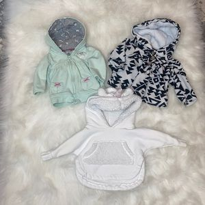 Baby Girls 0-3M Clothing Lot - Sleep Sack Included